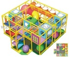 naughty toy plastic playground equipment castle