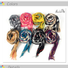 cheap and fashion acrylic scarf