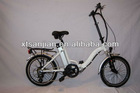 2012 Hot selling foldable electric bicycle/ Agile Electric charging bike