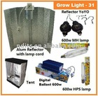 600W Hydroponics grow light kit - 31 Grow Tent System