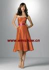 Off-shoulder Bridesmaid Dress Short