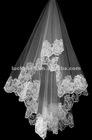 2012 New Fashionable One-layer Lace Edge Wedding Veils