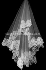 2012 New Fashionable One-layer Lace Edge Wedding Veils