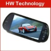 7 inch HD bluetooth rearview car monitor