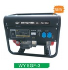 portable electric start generator 5.0kw/5.0kva