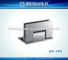Guangdong side plate wall to glass 90 degree Glass Clamp HC-105