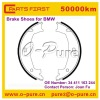 brake shoes for BMW