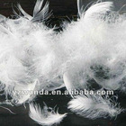 6cm Washed Grey Duck Feather