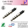 YS-B03 3.5mm male jack video