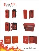 Fire cabinets and extinguishers