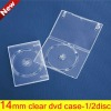 14MM Single Clear DVD COVER
