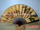 bamboo wall fan,handicraft fan