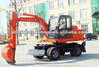 7 tons wheel excavator