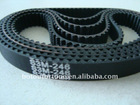 end S3M rubber timing belt