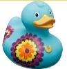 Processing color plastic duck