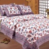 Cheap fitted cotton printed bed sheet set
