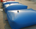PVC water bladder for oil transportation
