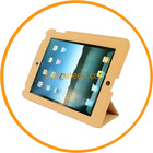 Ultra-slim Foldable PU Leather Case Stand for iPad3 Brown from dailyetech