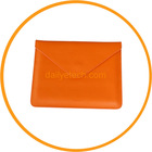 Envelope PU Leather case Pouch for iPad 2 3 Orange from dailyetech