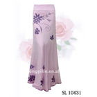 Long Embroidered Pure Cotton Skirt SL10431