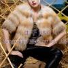 BG21961 Genuine Fox Fur Jacket OEM Wholesale/Retail