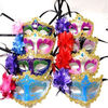 Masquerade mask with flower, party mask, carnival mask