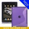 S Shape TPU Case for iPad 3