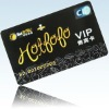 plastic vip Card with embossed numbers
