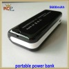 5600mah rechargeable power bank for ipad
