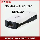 3g portable wifi router for 3g dongle with RJ45