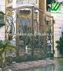 WH-145A 2012 New design modern artistic wrought iron gate