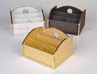 Leather tissue box