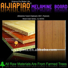 melamine paper laminated MDF board manufacturer