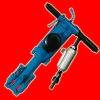 QJ15 air-leg rock drill