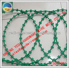 Factory!!!!! Cheap!!!! low price concertina razor barbed wire/ Galvanized Razor Barbed Wire (factory)