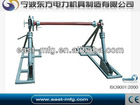 Integratd Cable Reel Stand With Disc Tension Brake ( Conductor Stand )