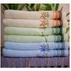 Soft Plain bamboo fiber bath towels