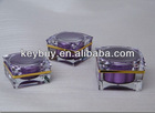 Square Acrylic cream jar