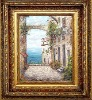 Western style ornate wood oil painting frame