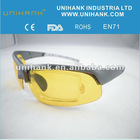 2012 new arrival yellow lens USB flash drive glasses for day , night and dim weather