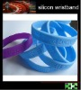 high quality of casino carved custom sports cool silicone wristband