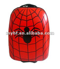 2012 hot sale ABS Spider luggage set for boy