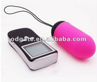 LED remote control vibrating egg,Wireless Bullet,Wireless Vibrator,Sex Toys,Sex Products,Magic Egg Vibe & LCD