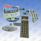 control panel for home appliances