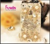 2012 handbag rhinestone mobile phone case for iphone4