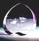 2013 Christmas gifts crystal 3d laser engraved gifts
