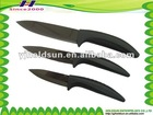 Zirconia black ceramic knife with mirror finish