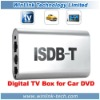 Car DVD External ISDB-T TV Receiver Box For Brazil Jappan South America