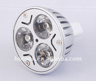 Wholesale---12V 3W MR16 LED Lamp Light CE& ROHS Approval
