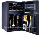 wine cooler&mini refridge combination